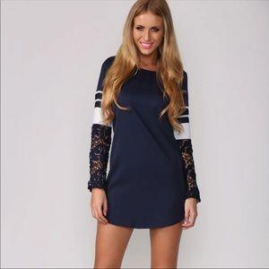 Hello Molly Selca Dress Navy
